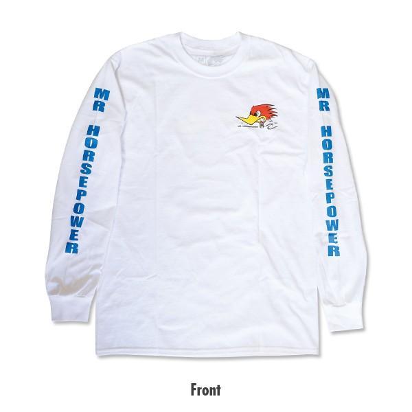 XXLサイズ クレイスミス ロング スリーブ Tシャツ ホワイト|mooneyes|03