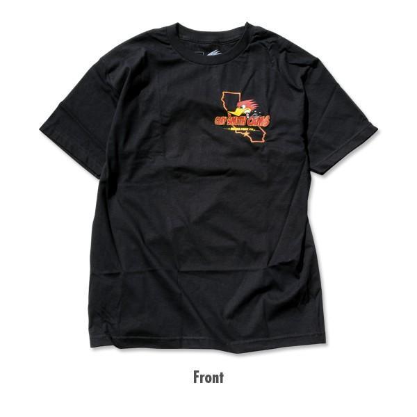 XXLサイズ クレイ スミス カリフォルニア Tシャツ|mooneyes|02