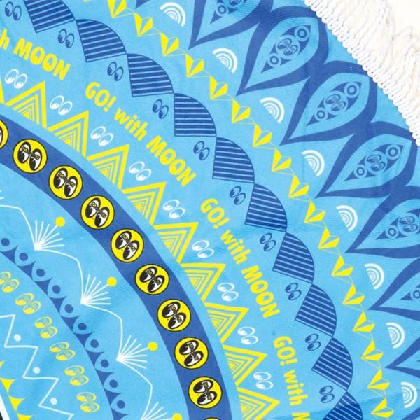 MOON ラウンド ビーチ タオル mooneyes 04