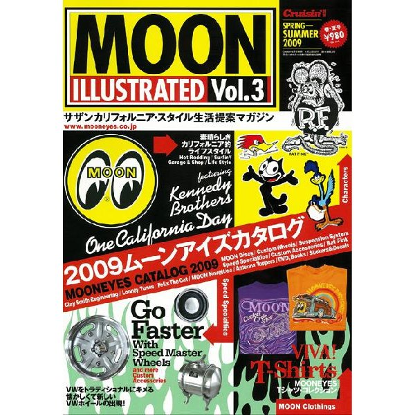 MOON ILLUSTRATED Magazine Vol.3 mooneyes