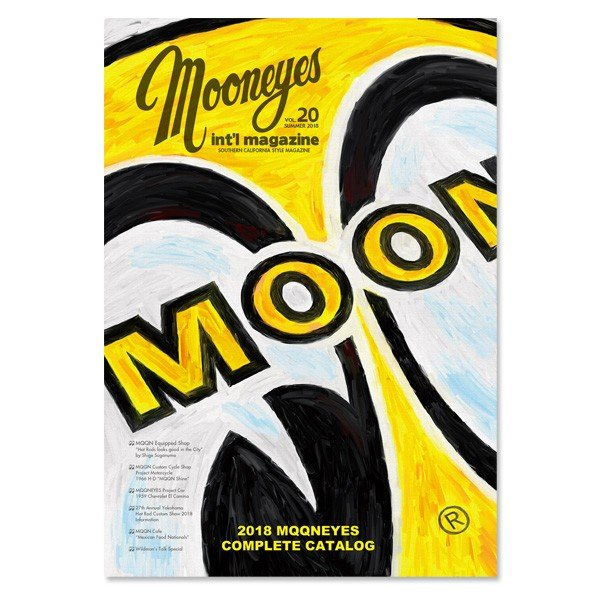 【好評発売中】MOONEYES International Magazine Summer 2018|mooneyes