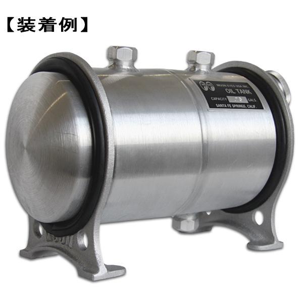 MOON Chopper Oil Tank Brackets 5インチ HD用|mooneyes|02