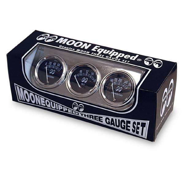 MOON Equipped (ムーン イクイップド)   3 ゲージ セット|mooneyes