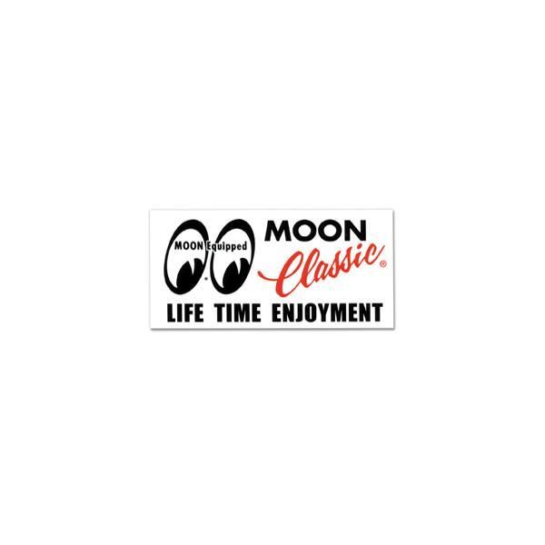 MOON Classic ロゴ ステッカー