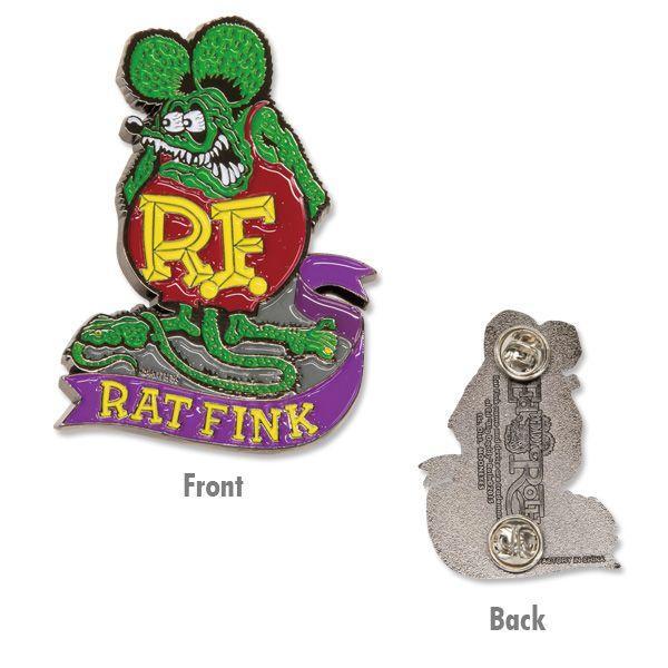 Rat Fink(ラットフィンク)  ピンズ|mooneyes|02