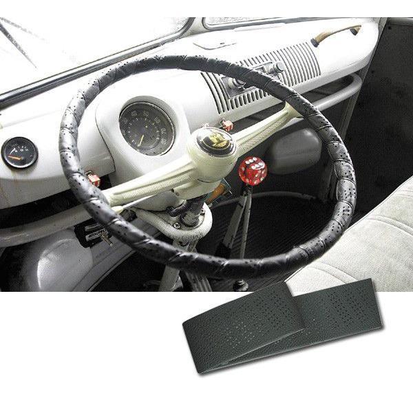 Truckline Sport Grip ステアリング ホイール カバー ブラック|mooneyes