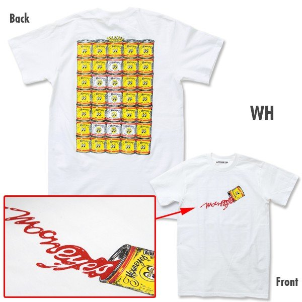 MOON ペイント カン Tシャツ mooneyes 04