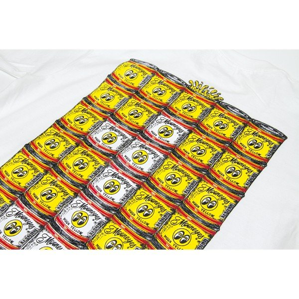 MOON ペイント カン Tシャツ mooneyes 07