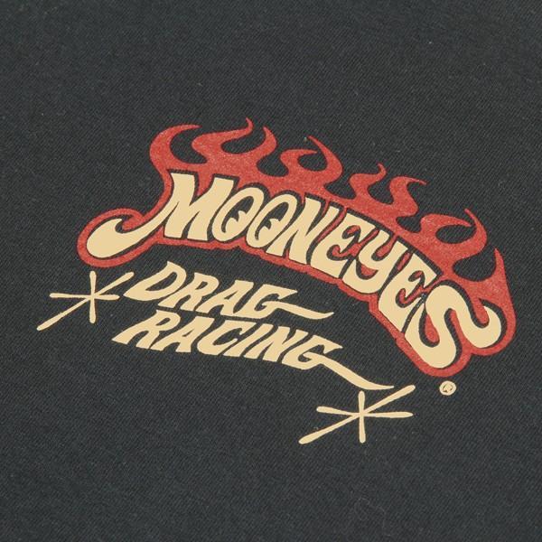 MOON ドラッグ レーシング Tシャツ|mooneyes|07