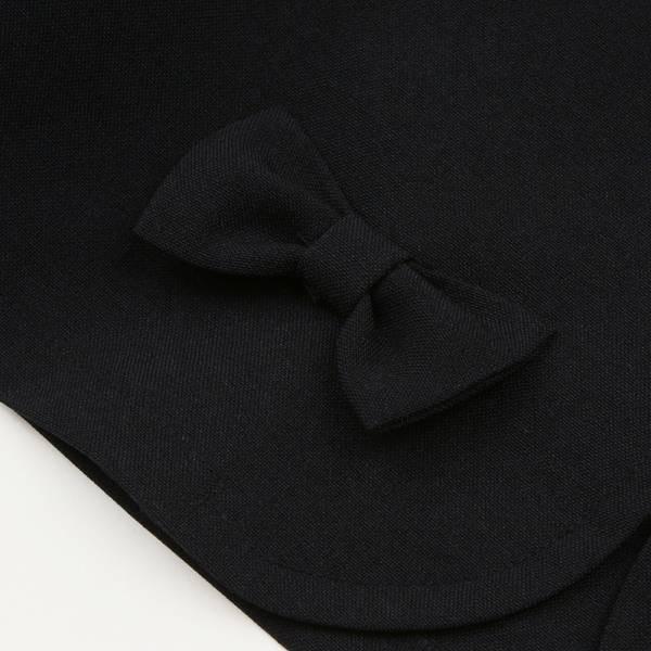子供服 女の子 入学式 卒業式 フォーマル 発表会 結婚式 女児 日本製 リボン付き 長袖 ボレロ 110cm 120cm 130cm むーのんのん MOONONNON|moononnon|04