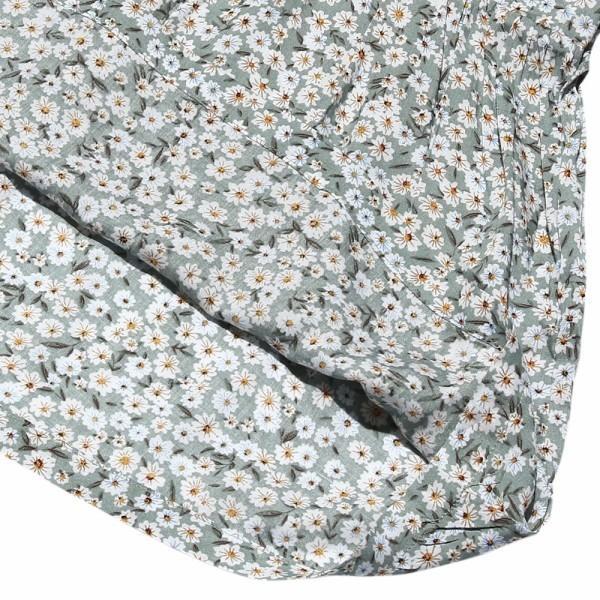 子供服 女の子 Tシャツ 長袖 普段着 通学着 花柄キャミソール切り替え重ね着風デザイン Aライン ネイビー オフホワイト アイアムマリリン IamMarilyn moononnon 05