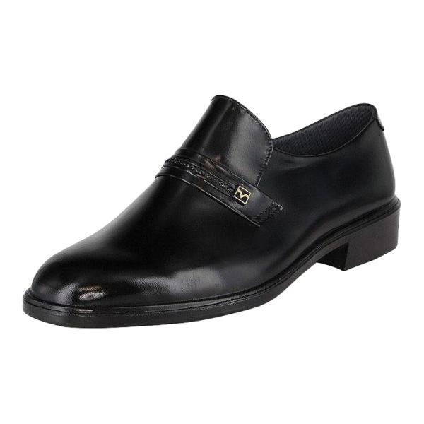 ビジネスシューズ 本革 4E 幅広 革靴 メンズ ムーンスター MOONSTAR MB8838A ブラック 23.0cm-28.5cm