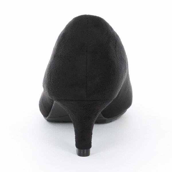 ムーンスター パンプス [セール] レディース SUGATA MS SGT302 ブラック 歩きやすい MOONSTAR 靴