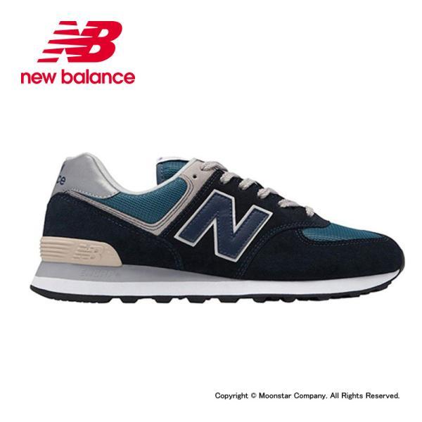 ニューバランスnewbalanceメンズ/レディーススニーカーNBML574ESSDダークネイビー