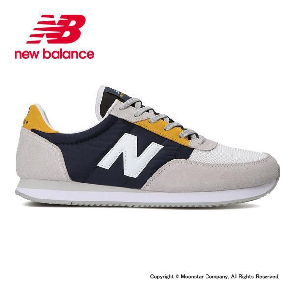 ニューバランス メンズ/レディース ランニングスタイル NB UL720S D C1 グレイ/ネイビー