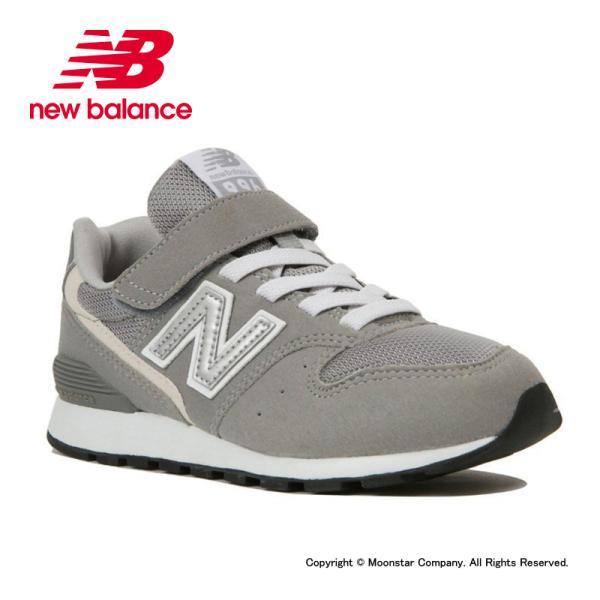 ニューバランスnewbalance子供靴キッズジュニアスニーカーNBYV996CGYグレー