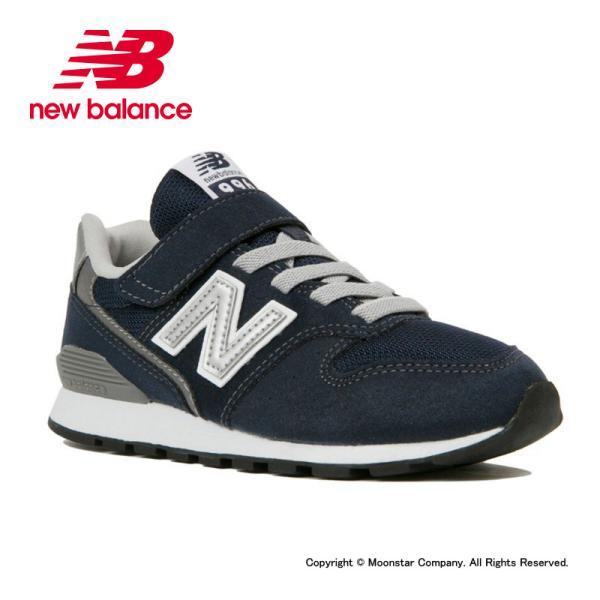 ニューバランスnewbalance子供靴キッズジュニアスニーカーNBYV996CNVネイビー