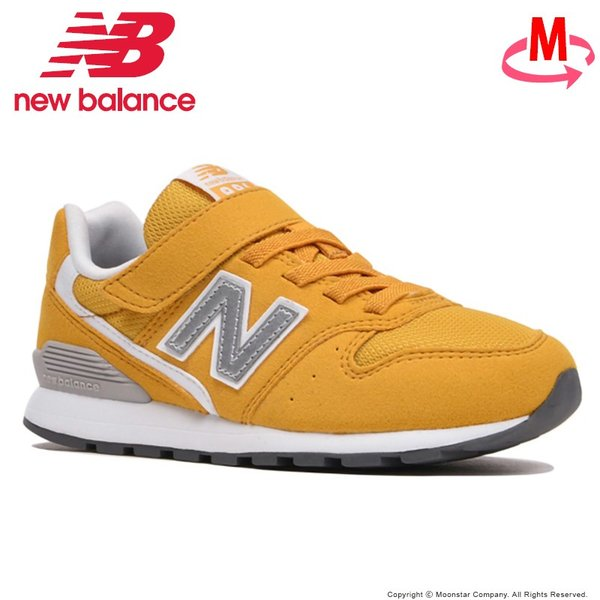 ニューバランス [セール] newbalance 子供靴 キッズジュニアスニーカー NB YV996 CYL M イエロー