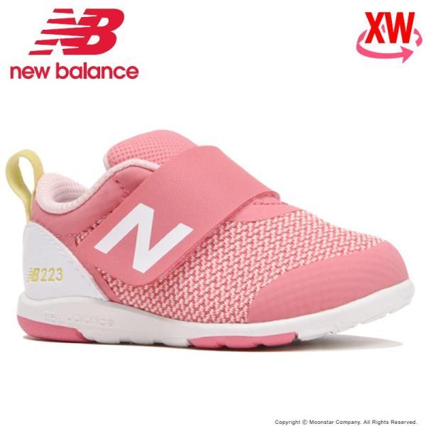 ニューバランス セール newbalance子供靴女子ベビーシューズNBIO223PKYXWピンク