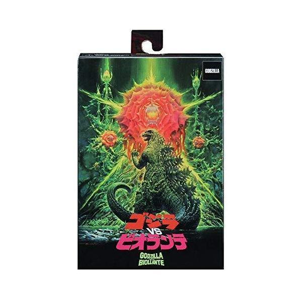 ゴジラネカ6インチアクションフィギュア『1989ゴジラvsビオランテ』ゴジラ(ポスターアートボックスバージョン)/NEC