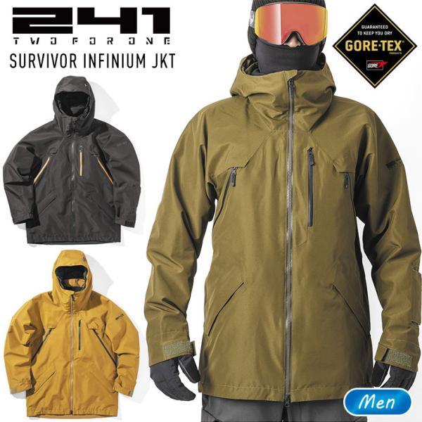 241 トゥーフォーワン サバイバーインフィニアムジャケット SURVIVOR INFINIUM JKT メンズ MB1003 スノーボード ウェア