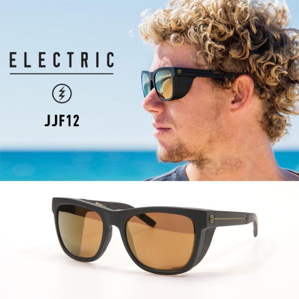 正規品 ELECTRIC エレクトリック サングラス JJF12 偏光レンズ M BRONZE POLAR PRO 釣り フィッシング サップ SUP