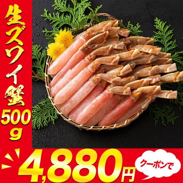 訳あり ズワイ蟹ミニサイズポーション 500g かに カニ 蟹 ズワイ 送料無料 お取り寄せ 食品 備蓄