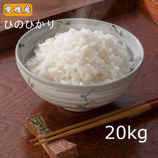 米 お米 送料無料 令和2年産 愛媛県産 ヒノヒカリ20kg(10kg×2) ひのひかり 20キロ