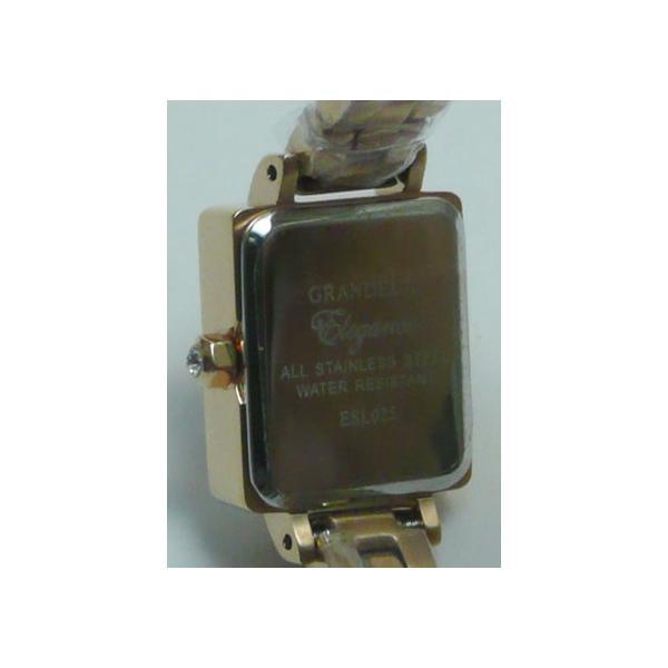 グランドール 女性用腕時計 ESL025P2 婦人用 時計 GRANDEUR 名入れ刻印対応、有料|morimototokeiten|04