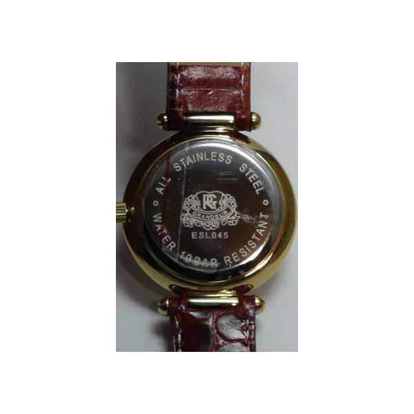 グランドール 女性用腕時計 ESL045G2 婦人用 時計 GRANDEUR 名入れ刻印対応、有料|morimototokeiten|04