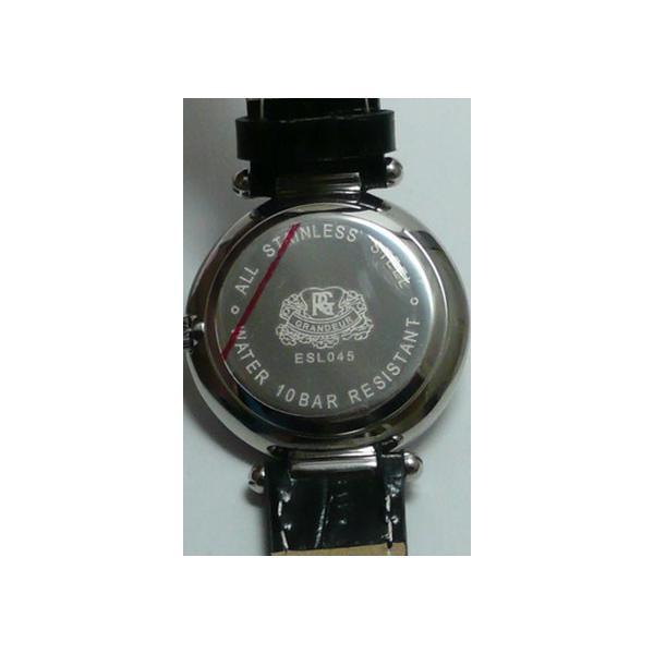 文字彫り 名入れ時計 刻印15文字付 グランドール 女性用 腕時計 ESL045W1 母 婦人用 時計 GRANDEUR|morimototokeiten|06
