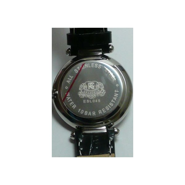 グランドール 女性用腕時計 ESL045W1 婦人用 時計 GRANDEUR 名入れ刻印対応、有料 ZAIKO|morimototokeiten|04