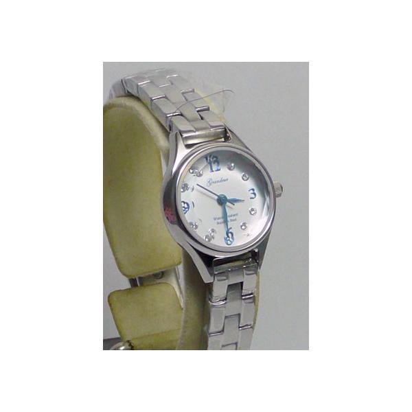 グランドール 女性用腕時計 ESL054W1 婦人用 時計 GRANDEUR ZAIKO|morimototokeiten|02