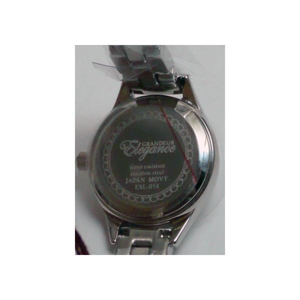 グランドール 女性用腕時計 ESL054W1 婦人用 時計 GRANDEUR ZAIKO|morimototokeiten|04