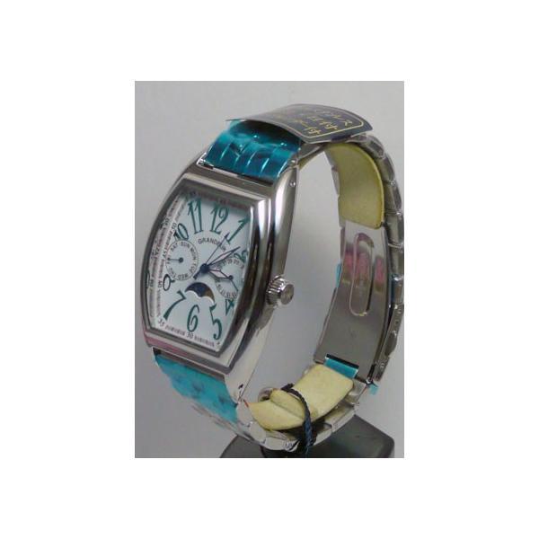 グランドール 男性用腕時計 GSX018W1 紳士用 時計 トノー型 GRANDEUR 名入れ刻印対応、有料|morimototokeiten|03