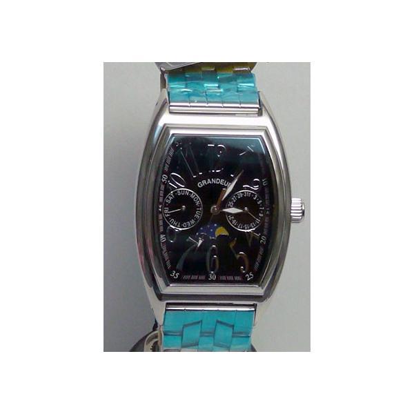 グランドール 男性用腕時計 GSX018W3 紳士用 時計 トノー型 GRANDEUR 名入れ刻印対応、有料|morimototokeiten