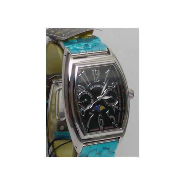 グランドール 男性用腕時計 GSX018W3 紳士用 時計 トノー型 GRANDEUR 名入れ刻印対応、有料|morimototokeiten|02