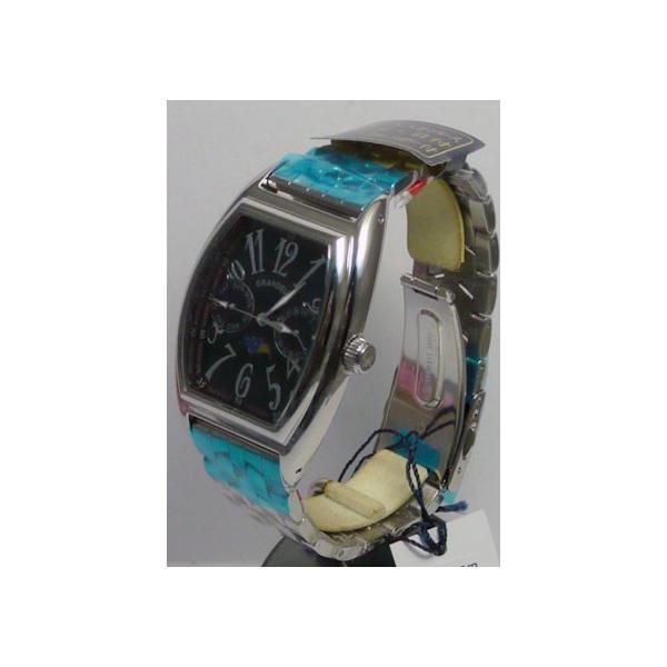 グランドール 男性用腕時計 GSX018W3 紳士用 時計 トノー型 GRANDEUR 名入れ刻印対応、有料|morimototokeiten|03