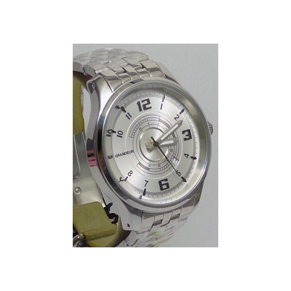 グランドール 男性用腕時計 GSX050W1 紳士用 時計 GRANDEUR 名入れ刻印対応、有料|morimototokeiten