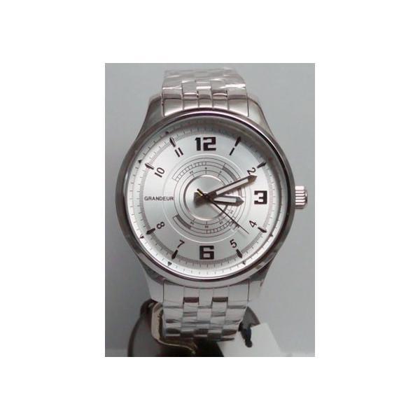 グランドール 男性用腕時計 GSX050W1 紳士用 時計 GRANDEUR 名入れ刻印対応、有料|morimototokeiten|02