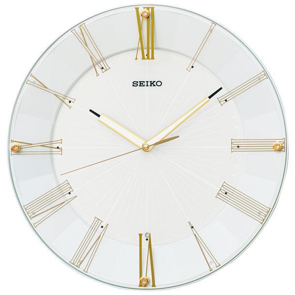 暗くなると秒針を止め 音がしない 壁掛け時計 電波時計 掛時計 KX214H セイコー SEIKO スイープ 文字入れ対応、有料 取り寄せ品|morimototokeiten