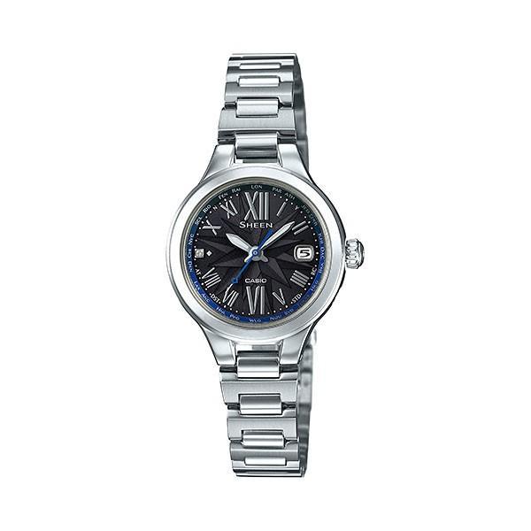カシオ ソーラー電波時計 SHW-1750D-1AJF シーン 女性用腕時計 CASIO Sheen 取り寄せ品 morimototokeiten