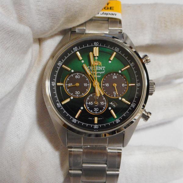 ソーラー 腕時計 オリエントネオ WV0031TX クロノグラフ ORIENT 男性用 腕時計 紳士用 名入れ刻印対応、有料 取り寄せ品 morimototokeiten 02