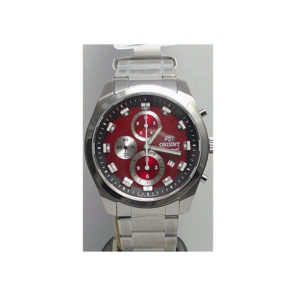 名入れ 腕時計 刻印10文字つき オリエント ORIENT 男性用 紳士用 WV0481TT クロノグラフ 赤色系 取り寄せ品 代金引換不可|morimototokeiten|11