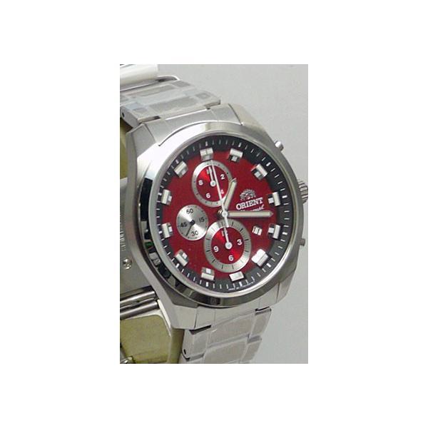 名入れ 腕時計 刻印10文字つき オリエント ORIENT 男性用 紳士用 WV0481TT クロノグラフ 赤色系 取り寄せ品 代金引換不可|morimototokeiten|12