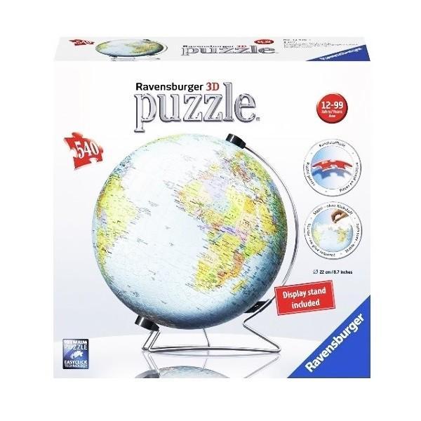 立体パズル ジグソーパズル ラベンズバーガ— 3Dパズル 地球儀 (540ピース)12歳から