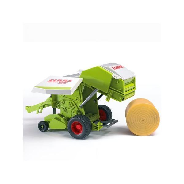 車おもちゃ農業トラクターBRUDERブルーダーClaasRollant250ストローベーラー02121