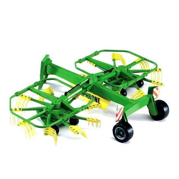 車おもちゃ農業トラクターBRUDERブルーダーKroneデュアルロータリーウインドローワー02216