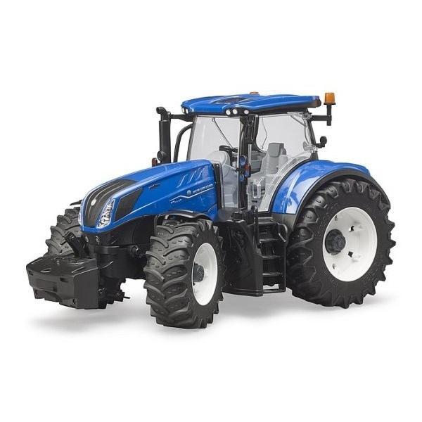 車おもちゃ農業トラクターBRUDERブルーダーニューホーランドNHT7.315トラクター03120