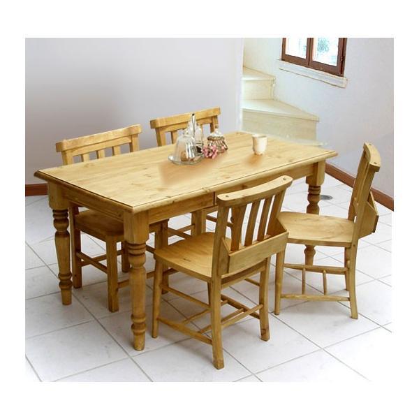 今なら送料無料!手触りのいい自然なオイル塗装仕上げ! カントリーの定番!木のぬくもり感あふれるきれいなパイン材の食卓セットです。アウトレット価格 激安 アイロスジャパン A001 A002 A003